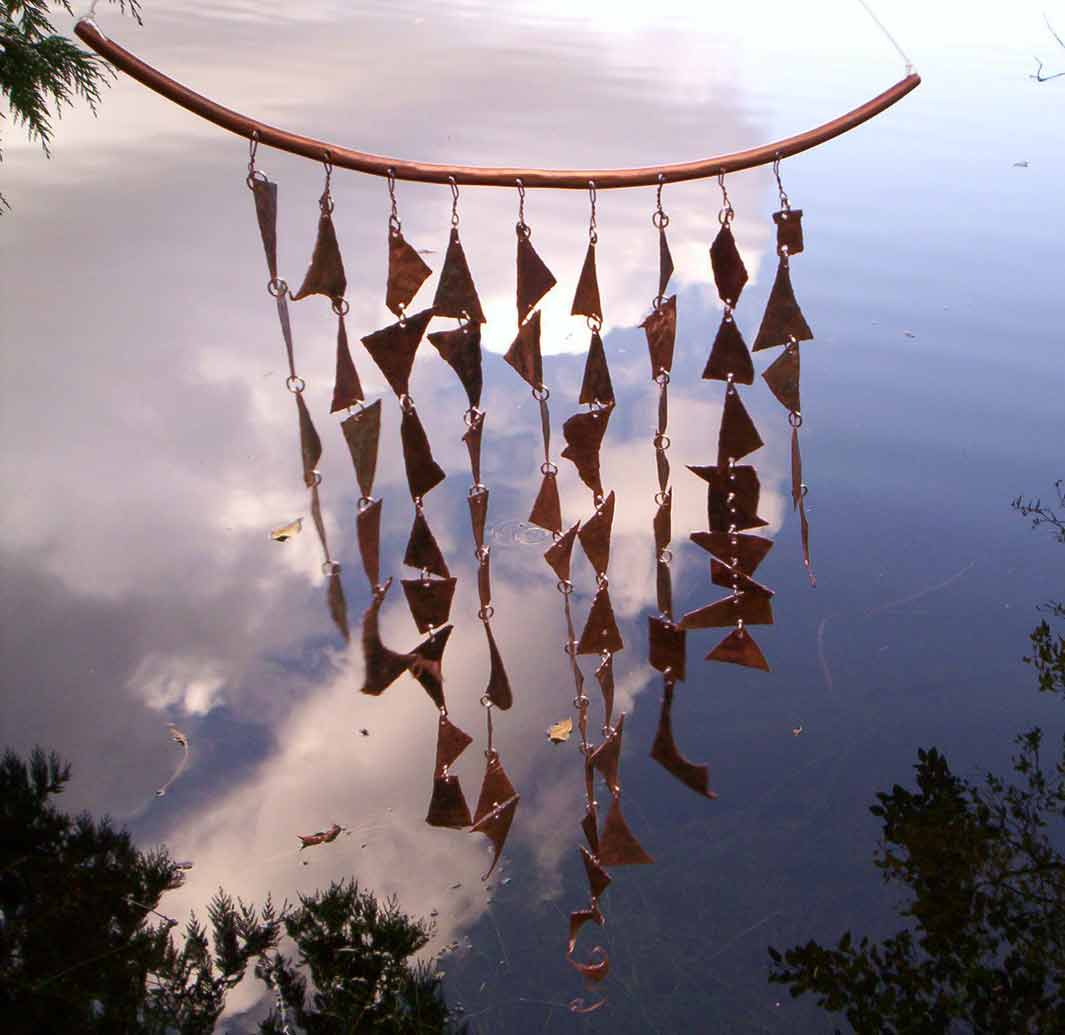 High Quality Ancient Copper Wind Chime Large.